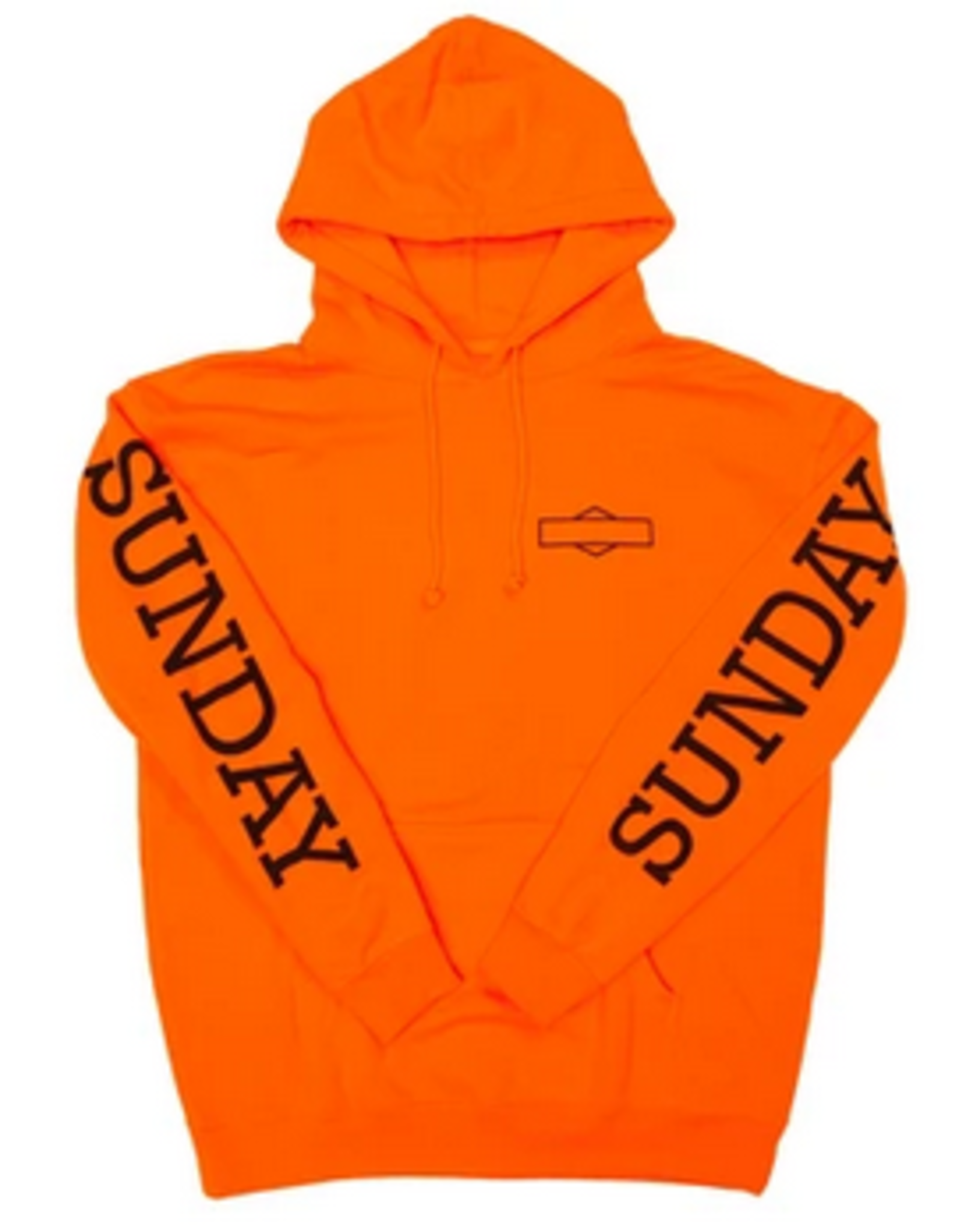 SUNDAY SUNDAY ROCKWELL BOX P/O HOODIE ORANGE