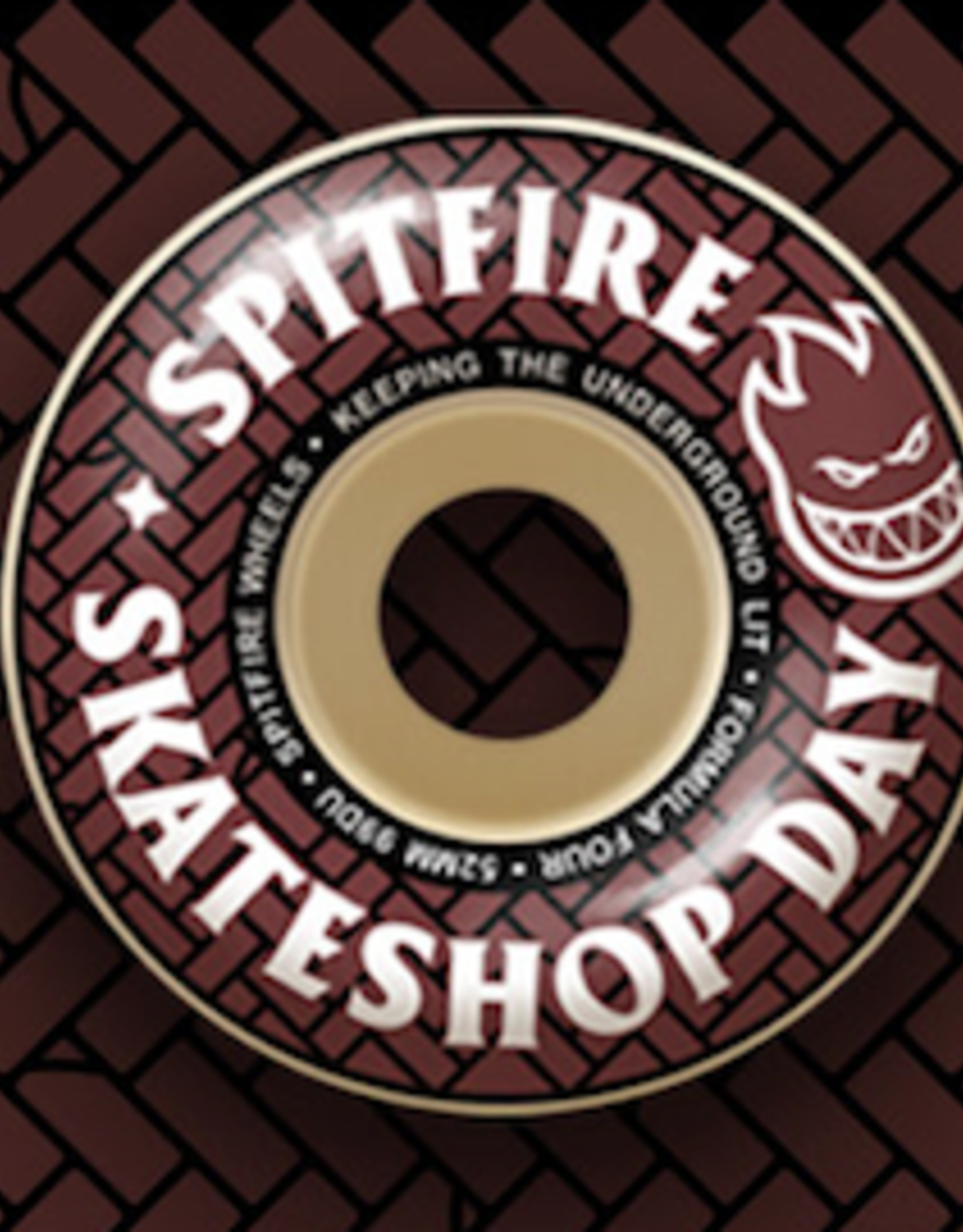 REAL SPITFIRE F4 99A 52MM SKATE SHOP DAY WHEELS