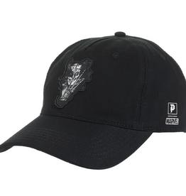 PRIMITIVE PRIMITIVE WOLVERINE STRAPBACK HAT BLACK