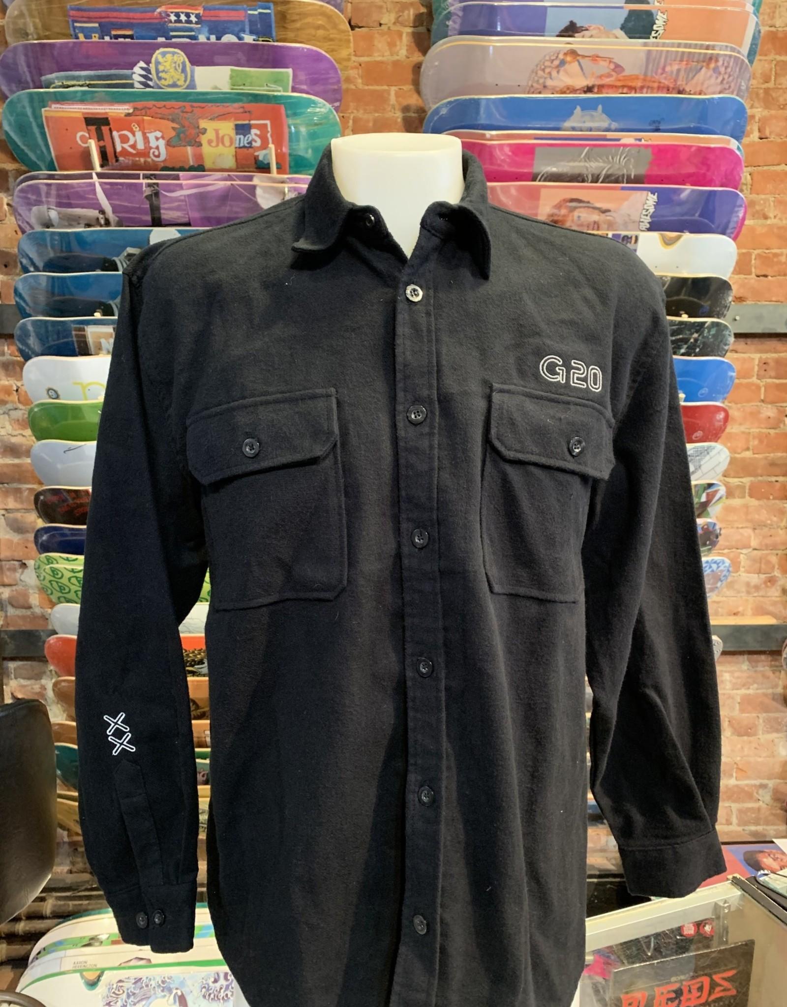 GARDEN GARDEN G-20 REFLECTIVE HEAVY WEIGHT FLANNEL BLACK