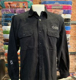 GARDEN GARDEN G-20 REFLECTIVE HEAVY WEIGHT FLANNEL BLACK