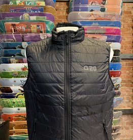 GARDEN GARDEN G-20 REFLECTIVE PUFFY VEST BLACK