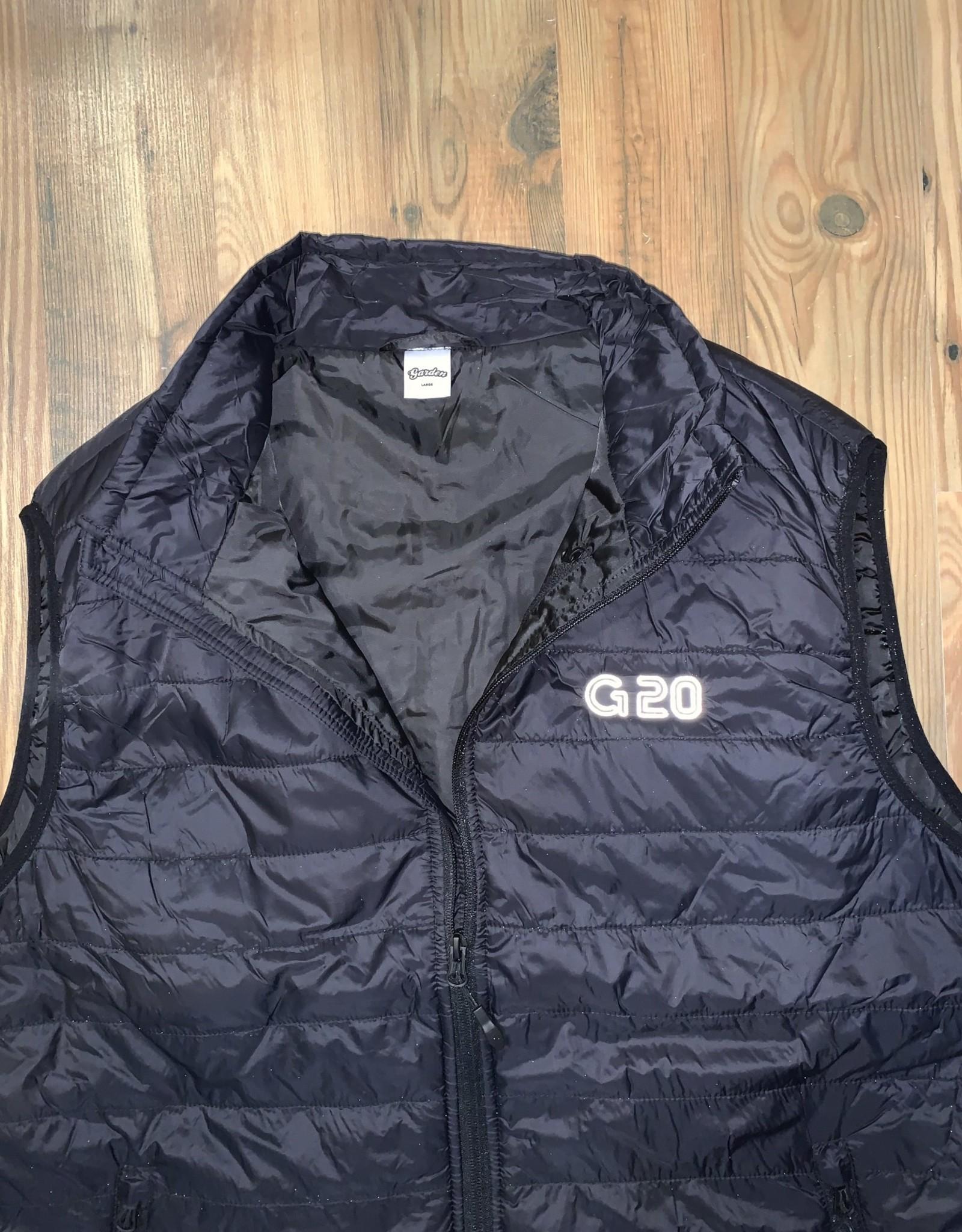 GARDEN GARDEN G-20 REFLECTIVE PUFFY VEST BLACK