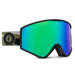 ELECTRIC ELECTRIC KLEVELAND GOGGLES CAMO BROSE GREEN CHROME