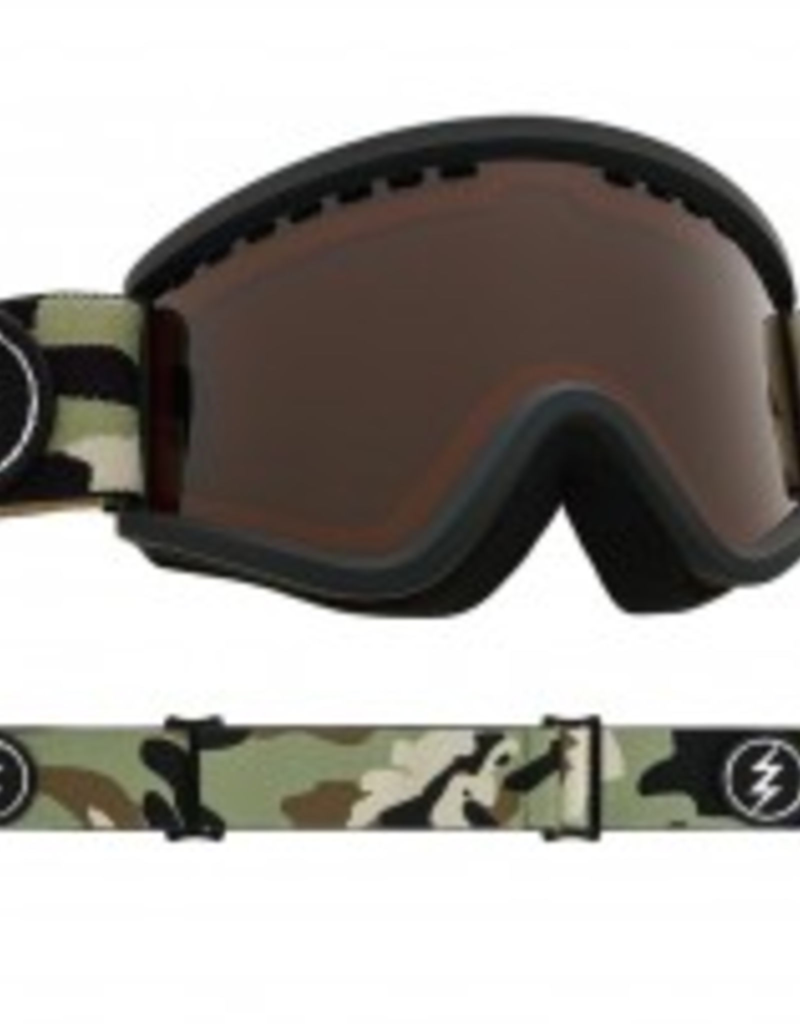 ELECTRIC ELECTRIC EGV.K YOUTH KIDS GOGGLES CAMO BROSE GREEN LENS