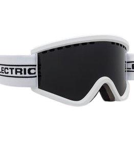 ELECTRIC ELECTRIC EGV.K YOUTH KIDS GOGGLES WHITE TAPE JET BLACK LENS