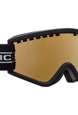 ELECTRIC ELECTRIC EGV.K YOUTH KIDS GOGGLES BLACK TAPE BROSE GOLD LENS
