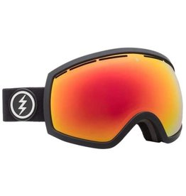 ELECTRIC ELECTRIC EG2 GOGGLES MATTE BLACK BROSE RED CHROME LENS