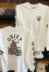 THE QUIET LIFE THE QUIET LIFE SOUNDS L/S TEE WHITE