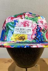 THE QUIET LIFE THE QUIET LIFE TAKE A BREAK FLORAL 5 PANEL CAMPER CAP HAT