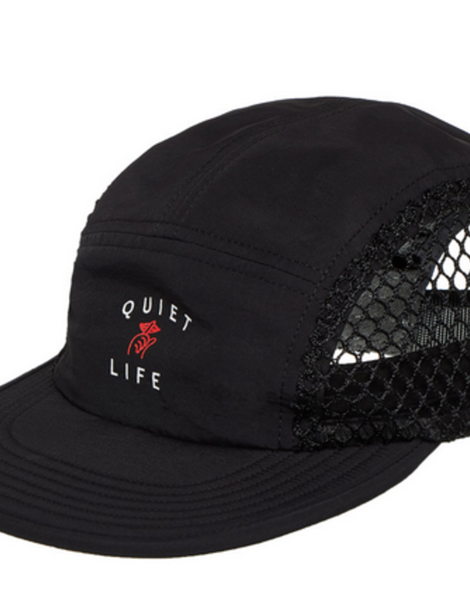 THE QUIET LIFE THE QUIET LIFE JUMBO 5 PANEL MESH CAP HAT BLACK