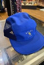 THE QUIET LIFE THE QUIET LIFE JUMBO 5 PANEL MESH CAP HAT ROYAL BLUE