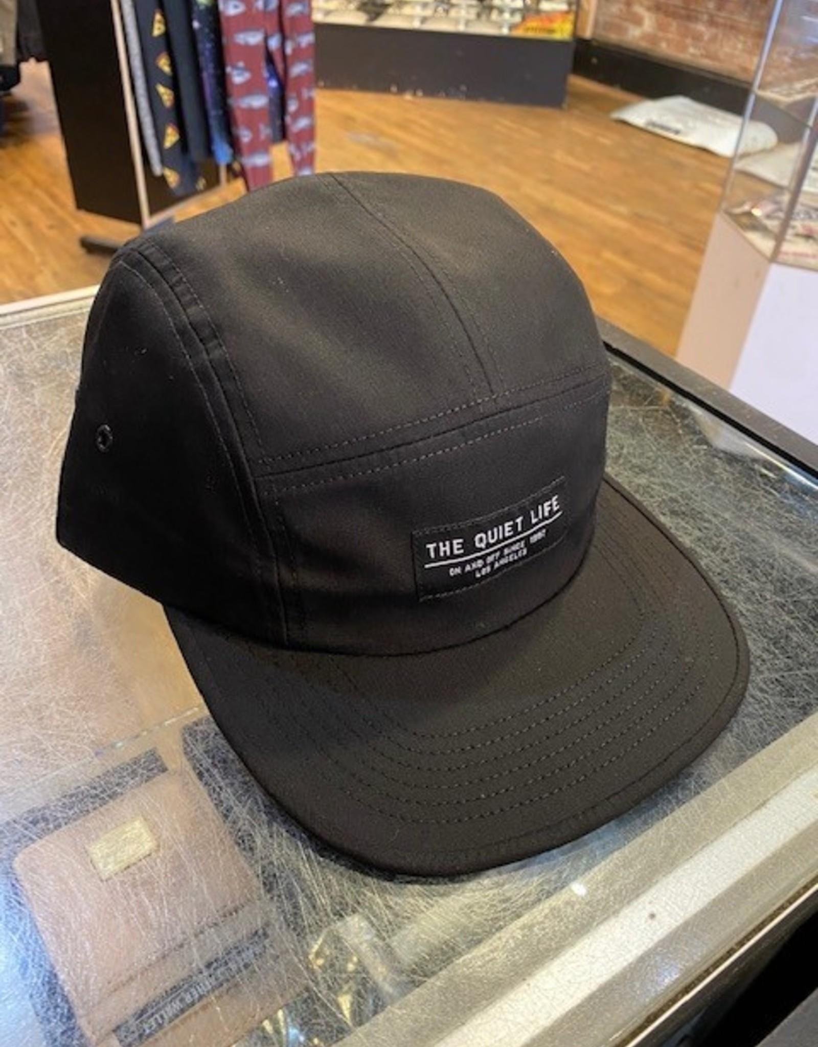 THE QUIET LIFE THE QUIET LIFE 5 PANEL FOUNDATION CAP BLACK