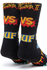HUF HUF STREET FIGHTER SOCKS GRAPHIC BLACK