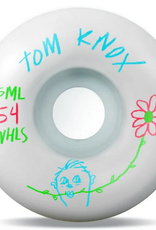 SML SML 54MM V CUT 99A TOM KNOX PENCIL PUSHER WHEELS