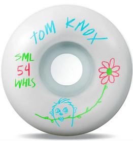 SML SML 54MM V CUT 99A TOM KNOX PENCIL PUSHER WHEELS
