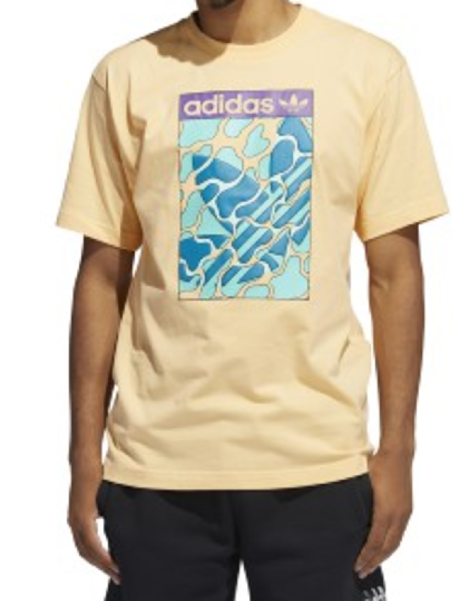 ADIDAS ADIDAS SUMMER TONGUE TEE SHIRT  ACID ORANGE