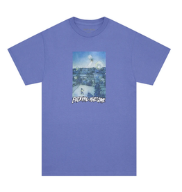 FUCKING AWESOME FA FUCKING AWESOME HELICOPTER TEE VIOLET