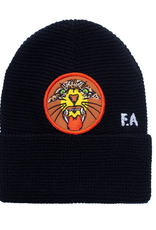 FUCKING AWESOME FA FUCKING AWESOME TIGER CUFF PATCH BEANIE BLACK