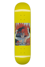 """FUCKING AWESOME FA FUCKING AWESOME 8.0"""" TIGER HOLOGRAPHIC YELLOW DECK"""