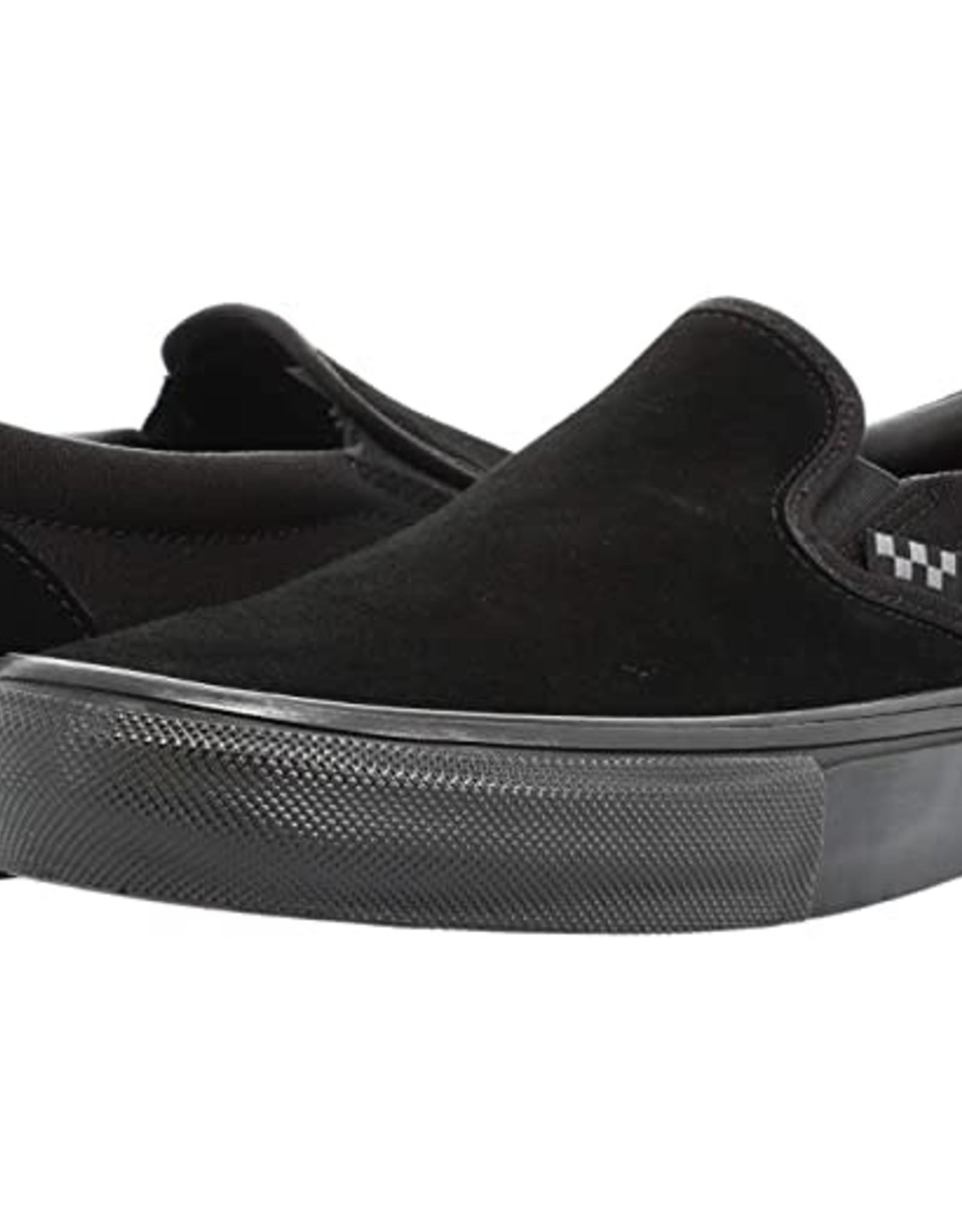 VANS VANS SKATE SLIP-ON BLACK BLACK