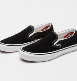VANS VANS SKATE SLIP-ON BLACK WHITE