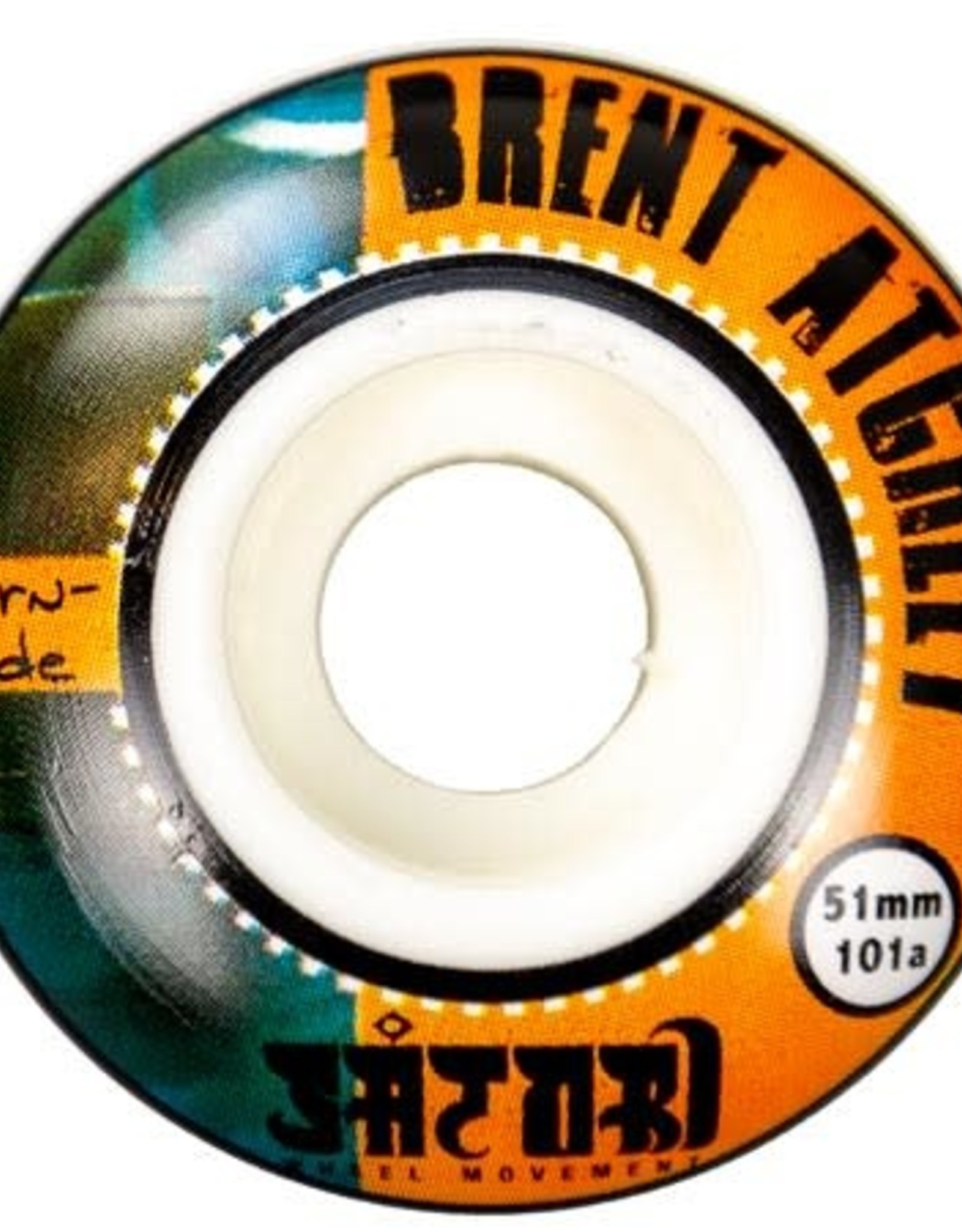 SATORI SATORI 51MM BRENT ATCHLEY BURN SIDE 101A WHEELS