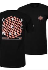 VANS VANS WARPED CIRCLE TEE SHIRT BLACK