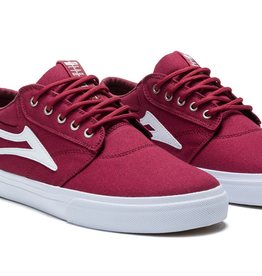 LAKAI LAKAI GRIFFIN CANVAS CARDINAL RED SHOES