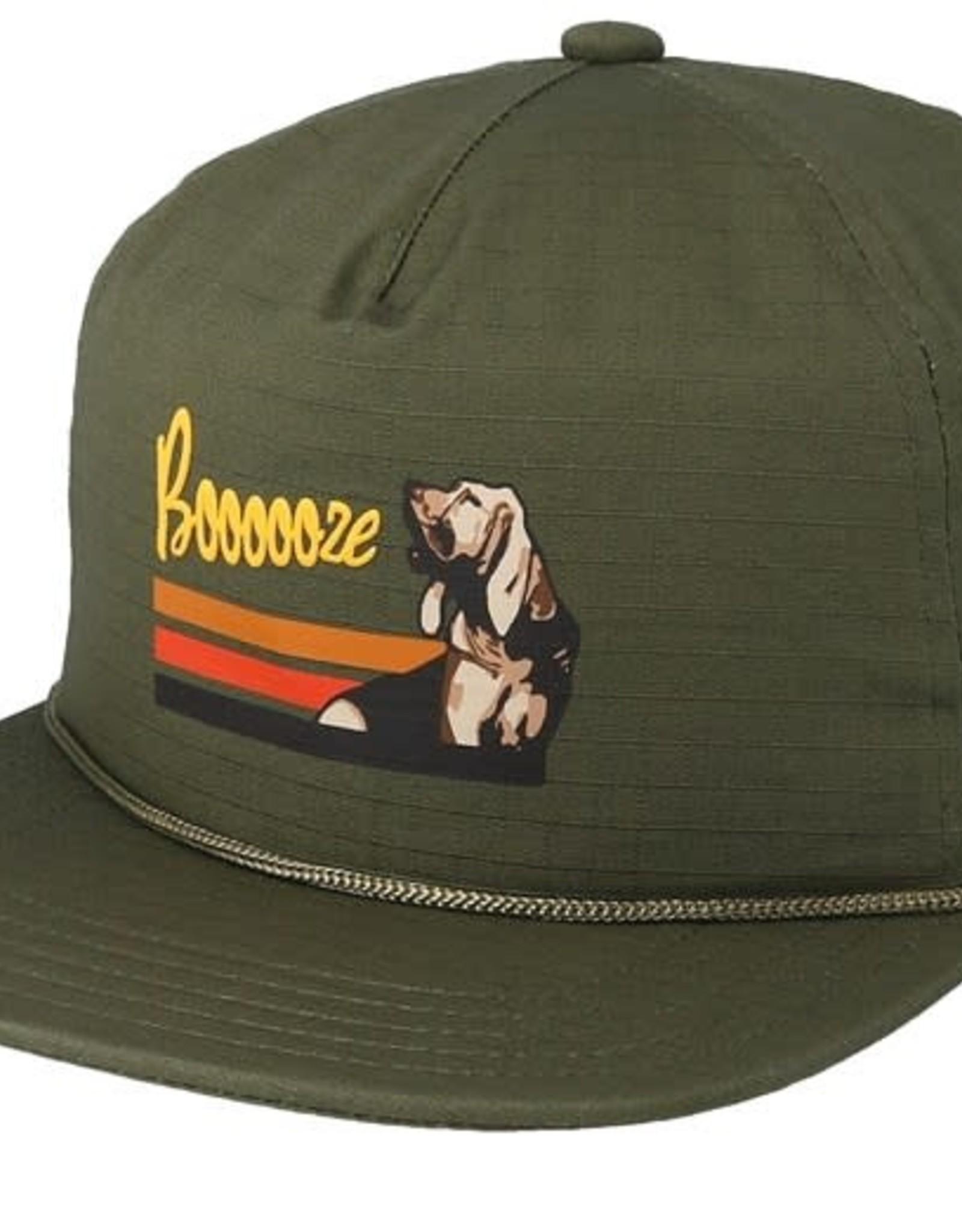 COAL COAL FIELD OLIVE CLIPBACK HAT