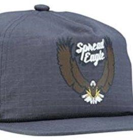 COAL COAL FIELD CHARCOAL SPREAD EAGLE CLIPBACK HAT