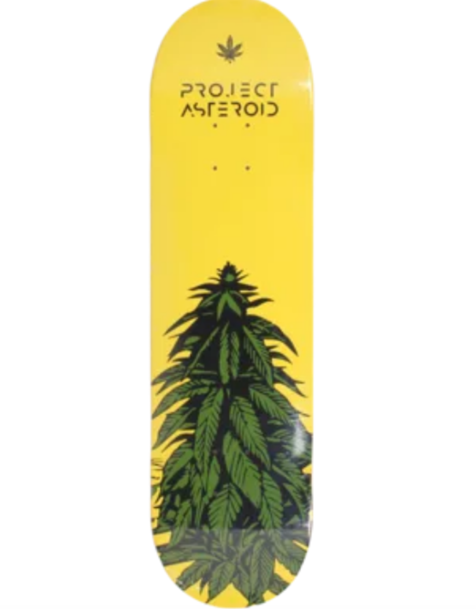 """PROJECT ASTEROID PROJECT ASTEROID 8.5"""" GREEN BUD DECK"""