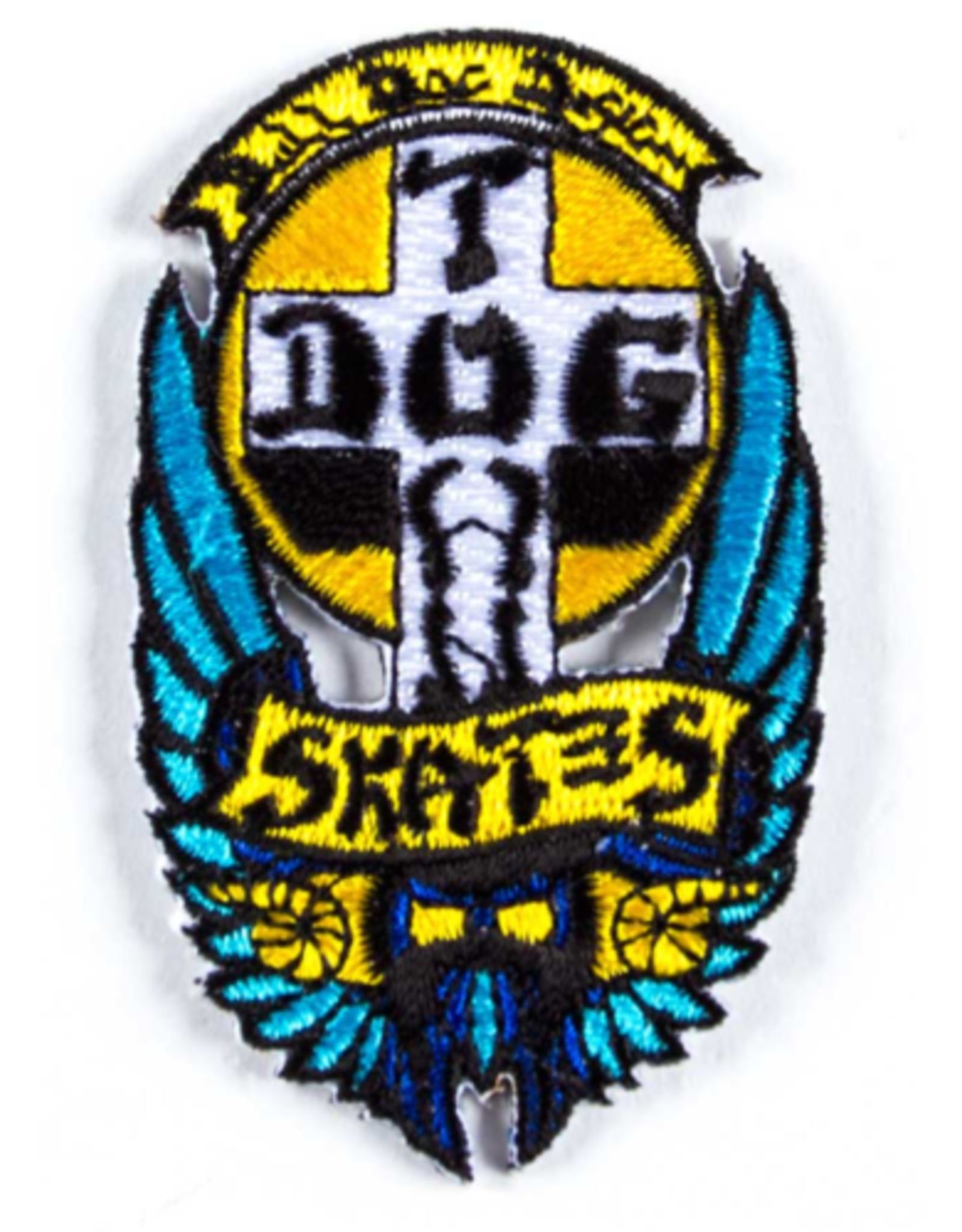 "DOGTOWN DOGTOWN BULL DOG PATCH 2.75"""
