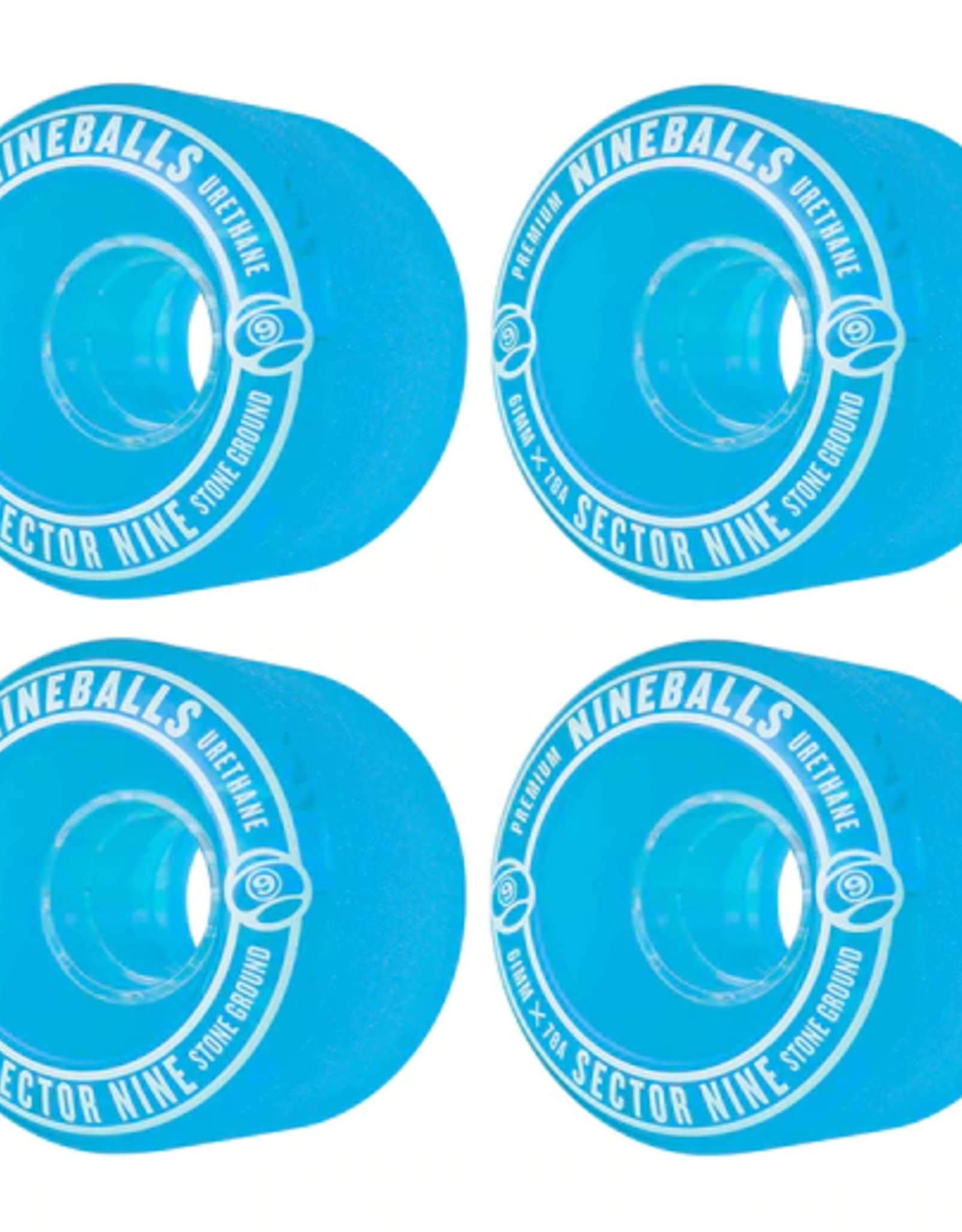 SECTOR 9 SECTOR 9 61MM 78A BLUE NINEBALL WHEELS