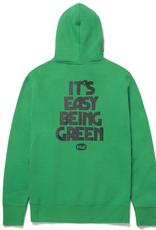 HUF HUF EASY GREEN P/O HOODIE GREEN