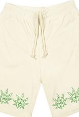 HUF HUF GREEN BUDDY TERRY CLOTH SHORTS NATURAL
