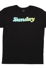 SUNDAY SUNDAY CLASSY HANDY TEE BLACK