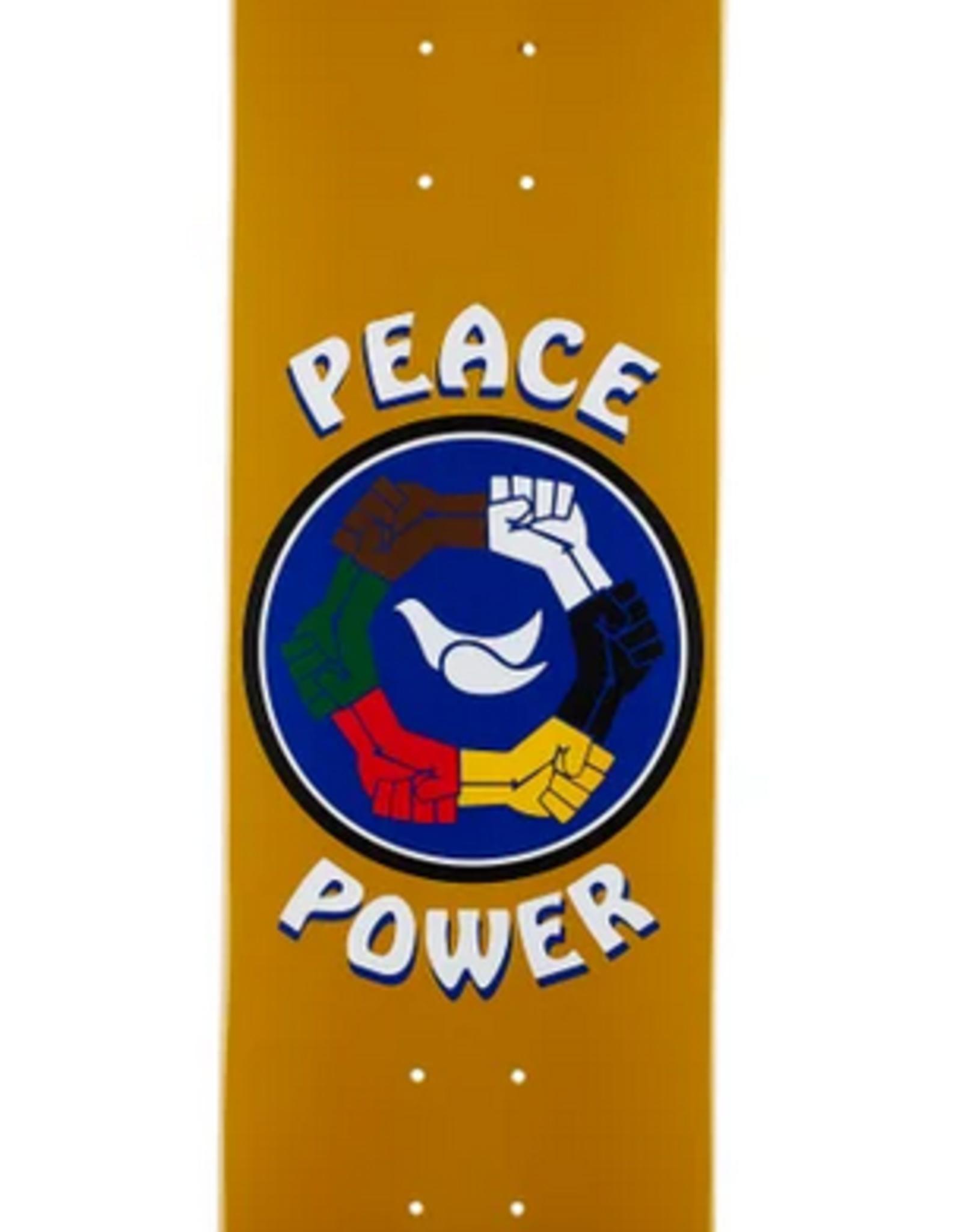 "CHOCOLATE CHOCOLATE 8.0"" PEACE POWER DECK"