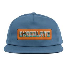 CHOCOLATE CHOCOLATE BAR 5 SNAPBACK HAT NAVY