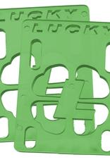 """LUCKY LUCKY 1/8"""" RISERS GREEN"""