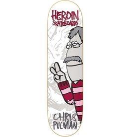 """HEROIN HEROIN 8.5"""" CHRIS PULMAN SECOND COMING DECK"""