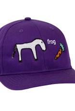 FROG FROG SKATEBOARDS HORSE HAT PURPLE