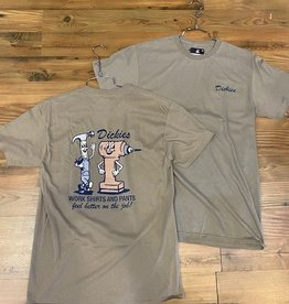 DICKIES DICKIES S9 GRAPHIC TEE SAND