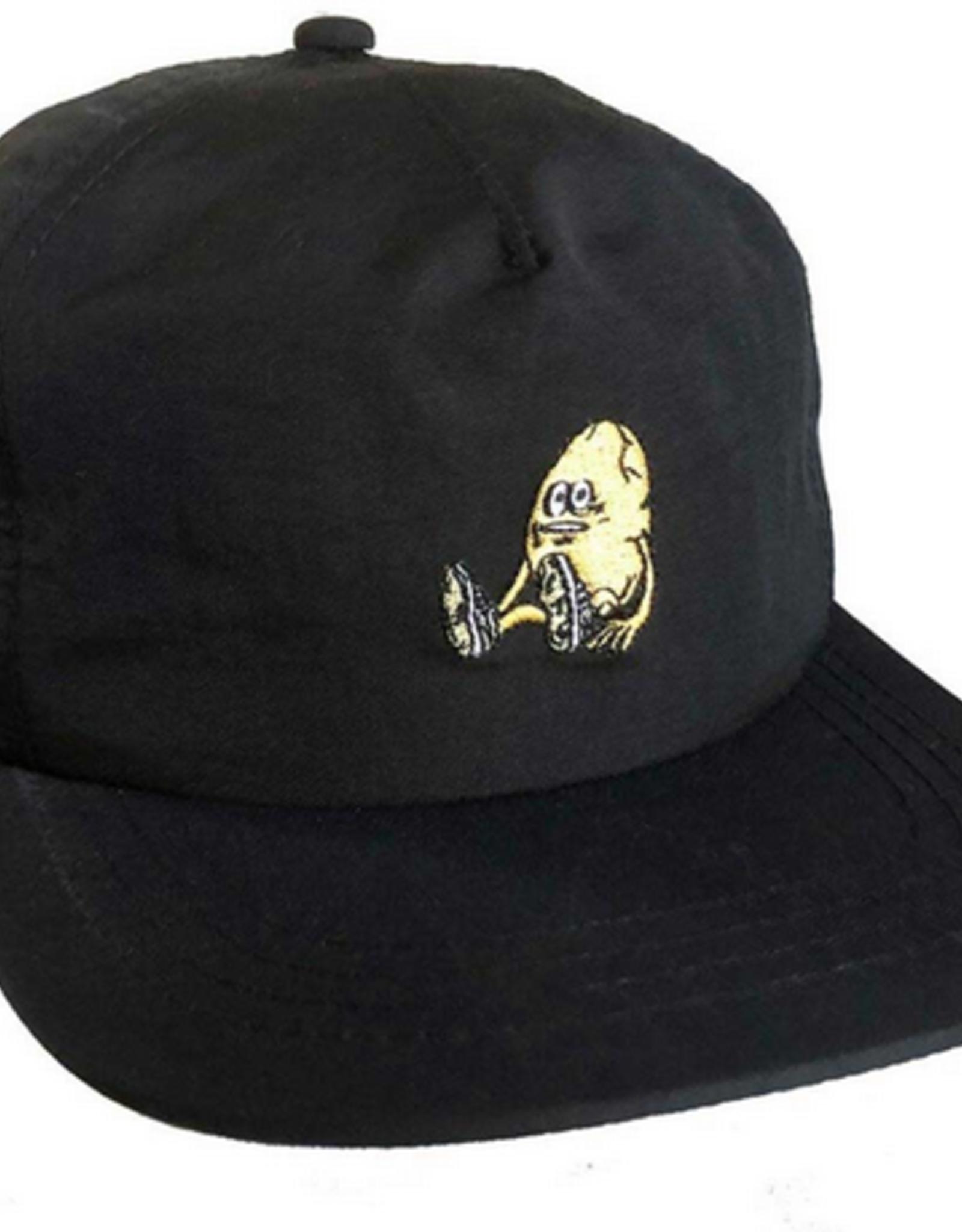 HEROIN HEROIN THE EGG BLACK NYLON SNAPBACK HAT