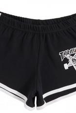 THRASHER THRASHER WOMENS SK8GOAT NIGHT SHORT BLACK