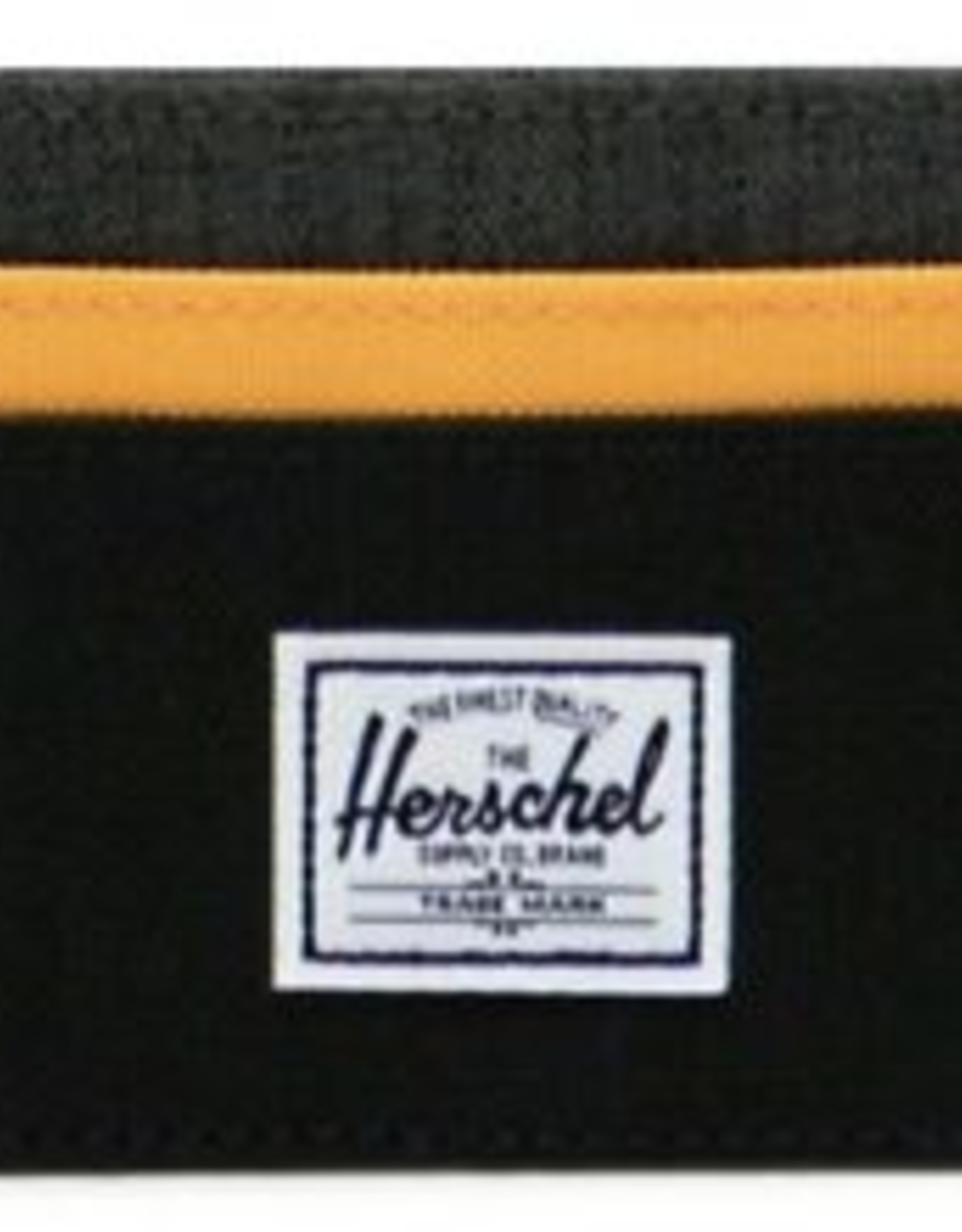 HERSCHEL HERSCHEL CHARLIE BLACK CROSSHATCH BLAZE ORANGE