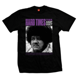 COLD WORLD COLD WORLD HARD TIES BABY HUEY TEE SHIRT BLACK