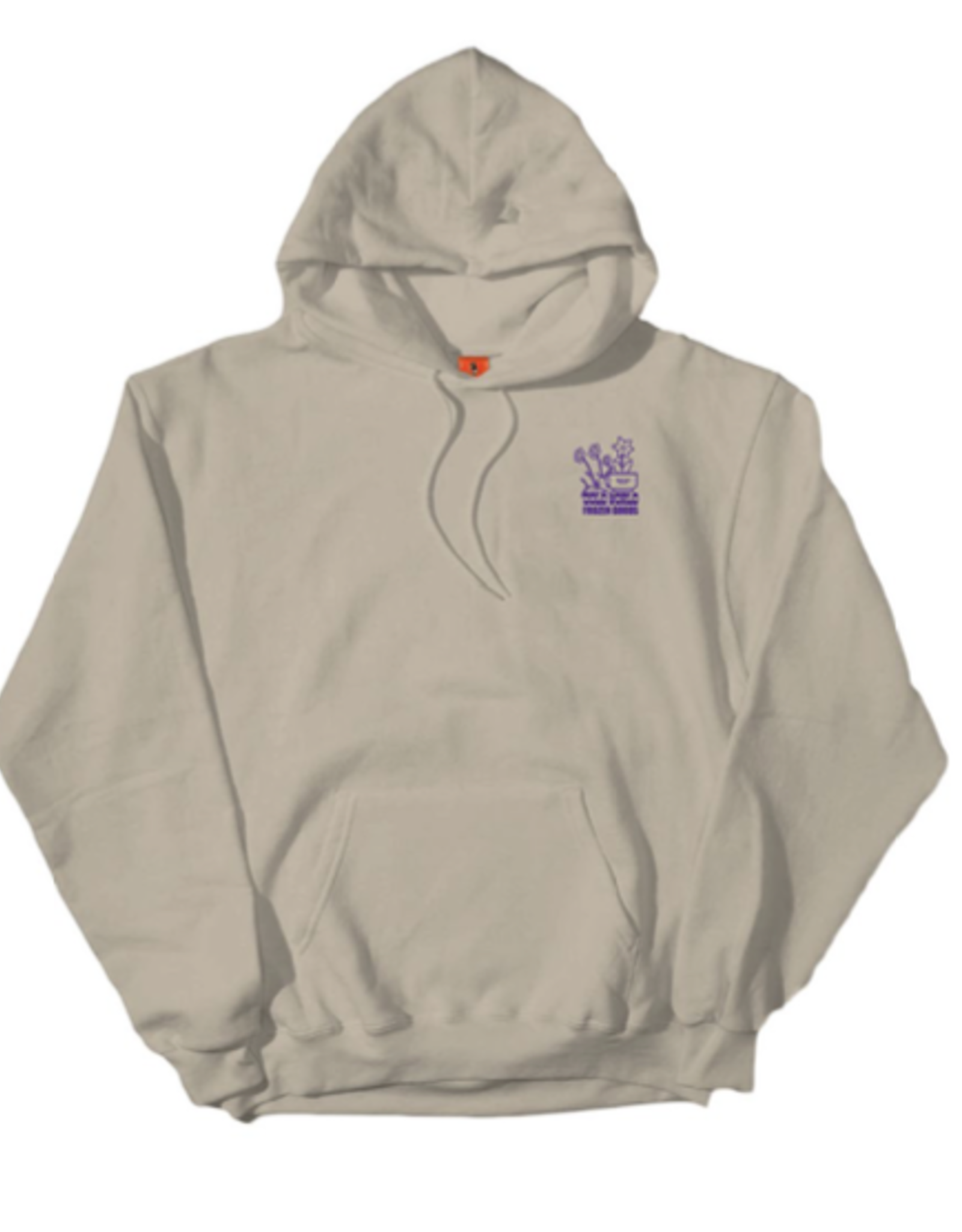 COLD WORLD COLD WORLD INDUSTRY PLANT P/O HOODIE SAND
