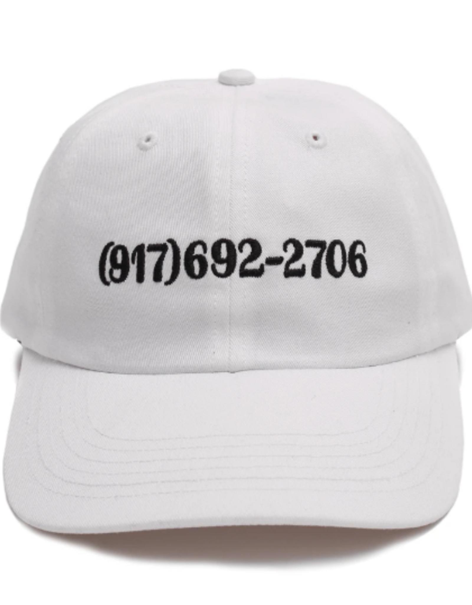 CALLME917 CALLME917 DIALTONE HAT WHITE