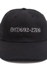 CALLME917 CALLME917 DIALTONE HAT BLACK